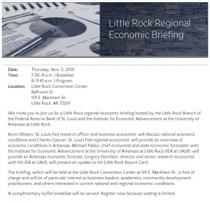 Regional Economic Briefing