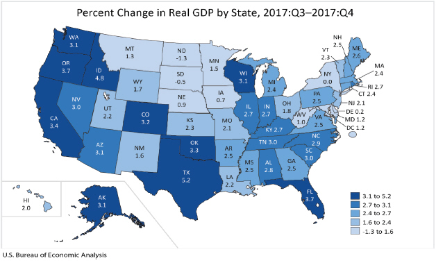 GDP2018Q4-map